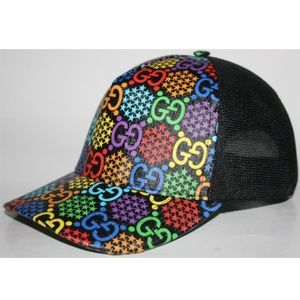 Gucci Psychedelic GG Canvas Baseball Cap Hat